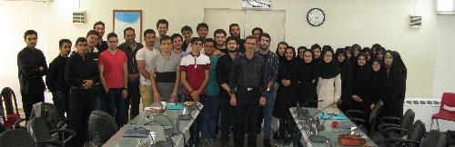 گزارش برگزاری دهمین دوره روزنامه نگاری دانشگاه علم و صنعت با حضور امیر هوشنگ قلندری